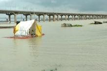 प्रयागराज में गंगा और यमुना नदी के जलस्तर में तेजी से इजाफा, संगम पर अलर्ट