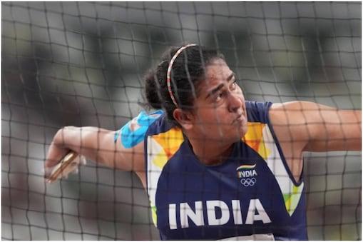 Tokyo Olympics: कमलप्रीत कौर मेडल नहीं जीत सकीं. वे क्वालिफिकेशन में दूसरे नंबर पर रही थीं. (PTI)