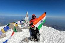 बड़ी कामयाबी : रांची की शिप्ती ने यूरोप के सबसे ऊंचे पहाड़ पर लहराया तिरंगा
