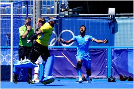 India vs Germany, Hockey Highlights: भारत ने दो गोल से पिछड़ने के बाद ब्रॉन्ज मेडल का मुकाबला जीता. (AP)