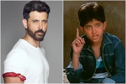 ऋतिक रोशन 1986 में आई फिल्म 'भगवान दादा' में बतौर चाइल्ड आर्टिस्ट काम कर चुके हैं. (फोटो साभारः Instagram@hrithikroshan/YouTube@Vishal Jalore)