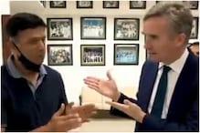 जब टीम इंडिया के कोच राहुल द्रविड़ बन गए 'कन्नड़ टीचर', वीडियो हो रहा वायरल