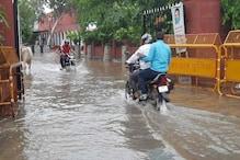 भरतपुर और धौलपुर में मूसलाधार बारिश, आंगई बांध के 8 गेट खोले