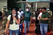 पति अतनु दास के साथ रांची पहुंची तीरंदाज दीपिका कुमारी का फीका रहा स्वागत