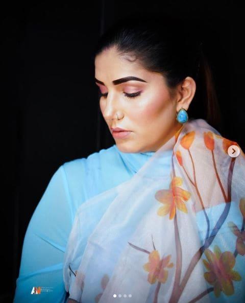 Sapna Choudhary new look