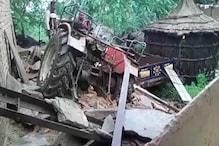 आफत की बारिश: हरियाणा के नूंह में दो मकानों की दीवार गिरी, दो में आई दरारें