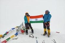 पिता चलाते हैं टैक्सी, बेटी ने यूरोप की सबसे ऊंची चोटी पर फहराया तिंरगा