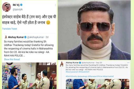 Rk Vij Vs Akshay Kumar: आईपीएस आरके विज और अभिनेता अक्षय कुमार के बीच ट्विटर वॉर जैसी स्थिति बन गई.