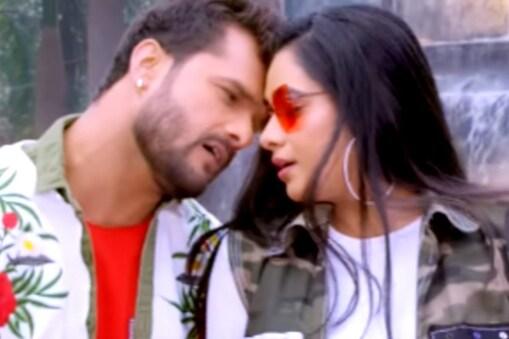 भोजपुरी फिल्म 'बापजी' का गाना Aaja Raja Kiss Kar रिलीज.