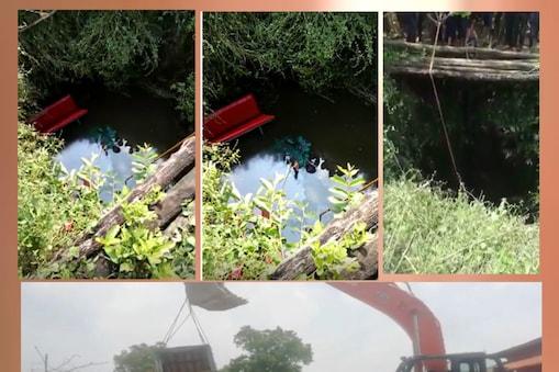 बलरामपुर जिले के रामचंद्रपुर थाना क्षेत्र के कलिकापुर गांव में हुआ हादसा