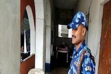 छपरा के सरकारी स्कूल में पुलिसवालों ने बनाया रैन बसेरा, 500 बच्चों की पढ़ाई ठप