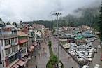 PICS: सीएम का बिलासपुर दौरा रद्द, मनाली में मूसलाधार बारिश, रोहतांग और लाहौल में हल्का हिमपात