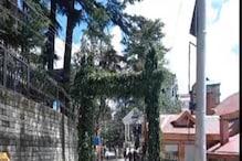 राष्ट्रपति रामनाथ कोविंद के आने से पहले शिमला की सड़कें चमाचम, गड्ढे भरे
