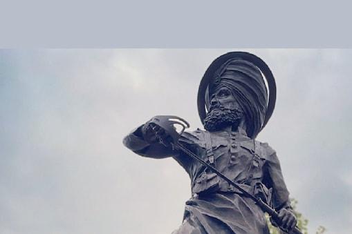 ईश्वर सिंह (Havildar Ishwar Singh) की प्रमिता का लगना सारागढ़ी युद्धाओं की बहादुरी का सम्मान है. (तस्वीर:  Twitter @JSinghSohal)