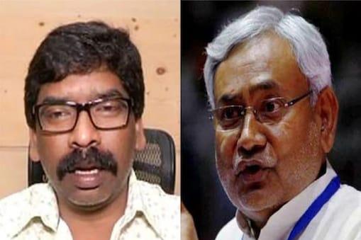 सीएम नीतीश कुमार ने झारखंड के मुख्यमंत्री हेमंत सोरेन के भोजपुरी और मगही भाषा को लेकर दिए विवादास्पद बयान पर जवाब दिया है (फाइल फोटो)