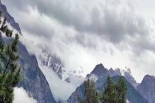 हिमाचल में बारिश से कई इलाकों में हल्की ठंड, किन्नौर में सीजन का पहला हिमपात