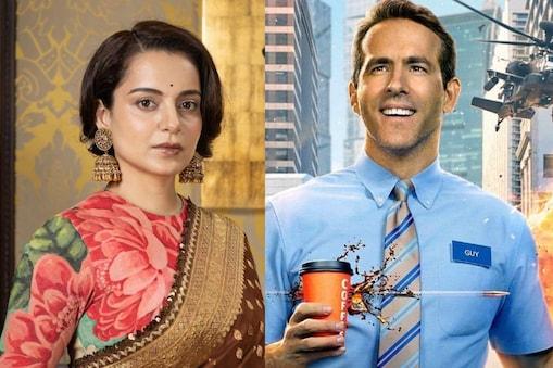 कंगना रनौत ने हॉलीवुड फिल्मों के भारतीय सिनेमाघरों पर कब्जे पर नाराजगी जताई है. (फोटो साभारः Instagram @kanganaranaut/vancityreynolds)