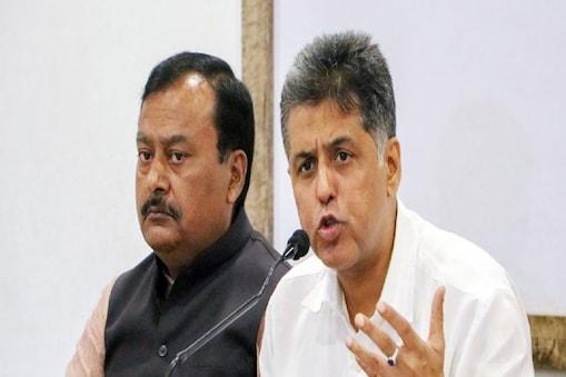 मनीष तिवारी ने भाजपा नेताओं पर टिप्पणी की. फाइल फोटो