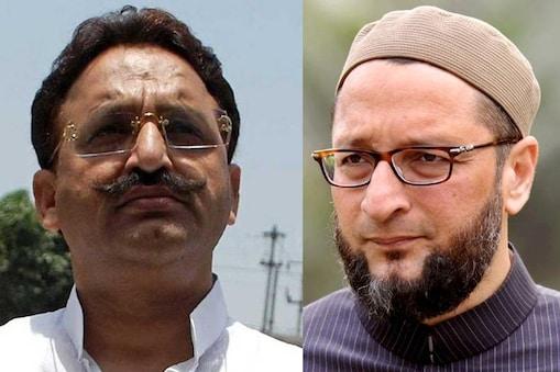 बीएसपी से मुख्तार अंसारी की विदाई के बाद असदुद्दीन ओवैसी ने उनपर चारा फेंका. (फाइल फोटो)