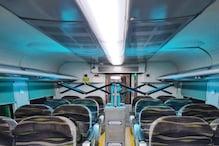 अब ट्रेनों में नहीं फैल पाएगा कोरोना,फ्लाइट्स की तरह कोच होंगे डिस्इंफेक्टेड