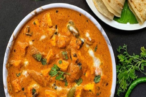 शाही पनीर रेसिपी (Shahi Paneer Recipe).