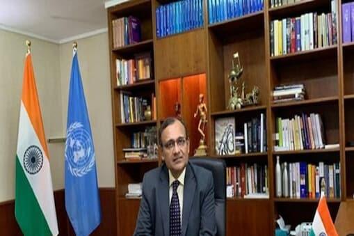 संयुक्त राष्ट्र में भारत के स्थायी प्रतिनिधि टीएस तिरुमूर्ति . ( फाइल फोटो )