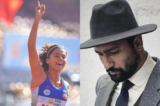 तापसी पन्नू की 'रश्मि रॉकेट' और विक्की कौशल की 'सरदार उधम सिंह' दशहरे पर रिलीज होगी. (फोटो साभारः Instagram @taapsee/vickykaushal09)
