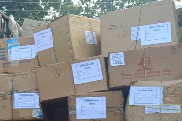 UP News: रामपुर में 5 करोड़ रुपये की नशीली दवाएं बरामद