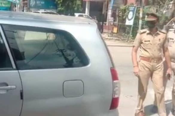संदिग्ध आतंकी हुमेद की कार को ATS ने कानपुर से किया बरामद