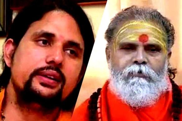 आनंद गिरी को हरिद्वार पुलिस ने हिरासत में ले लिया है और उनसे पूछताछ की जा रही है. (फाइल फोटो)