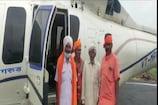 CM Shivraj का अनोखा अंदाज, आदिवासियों को अपने साथ हेलिकॉप्टर में घुमाया