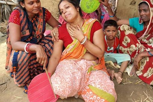 घटना के बाद पीड़ित परिजनों का रो-रो कर बुरा हाल हो गया.