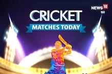 CPL 2021 का पहला सेमीफाइनल, जानें आज के क्रिकेट मैचों का शेड्यूल