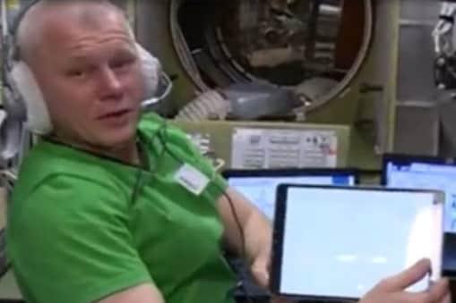 अंतरिक्ष यात्रियों ने इंटरनेशनल स्पेस स्टेशन से ही अपना वोट डाला. (फोटो: सोशल मीडिया)