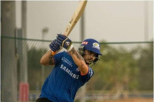IPL 2021: ईशान किशन यूएई में खेले 3 मैच में कुल मिलाकर सिर्फ 34 रन बना सके. (Mumbai Indians Instagram)