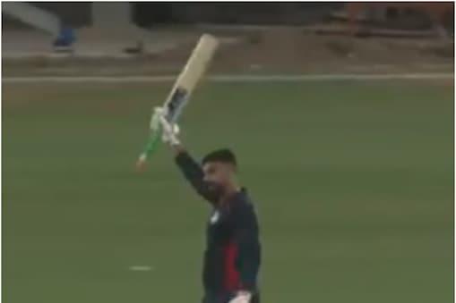 भारतीय मूल के विकेटकीपर बल्लेबाज जसकरण मल्होत्रा (Jaskaran Malhotra) ने 2 दिन पहले वनडे में 6 गेंद में 6 छक्के जड़ने का कारनामा किया था. (PC- ICC video grab)