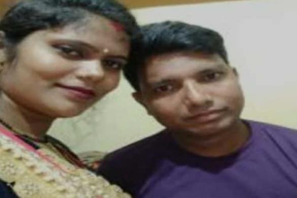Kushinagar News: राजेश गुप्ता और उसकी पत्नी की फाइल फोटो