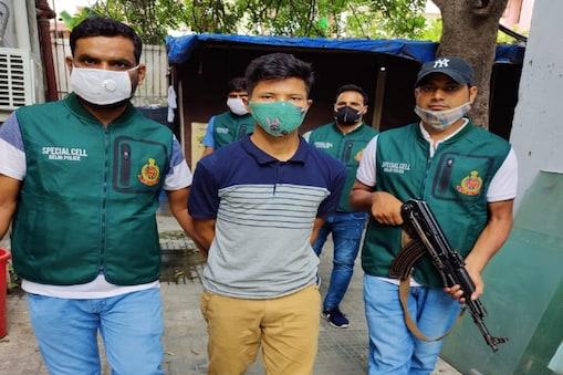 मणिपुर का कुख्यात उग्रवादी गिरफ्तार