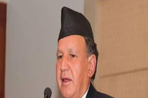 नेपाल (Nepal) के नए विदेश मंत्री नारायण खड़का (AP)