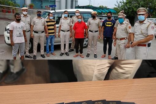 पुलिस ने दिल्ली आईजीआई एयरपोर्ट पर 5 बांग्लादेशियों समेत 6 जालसाजों को गिरफ्तार किया है.
