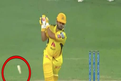 IPL 2021: सुरेश रैना ने मुंबई इंडियंस के खिलाफ 4 रन बनाए. (PC:video screenshot)
