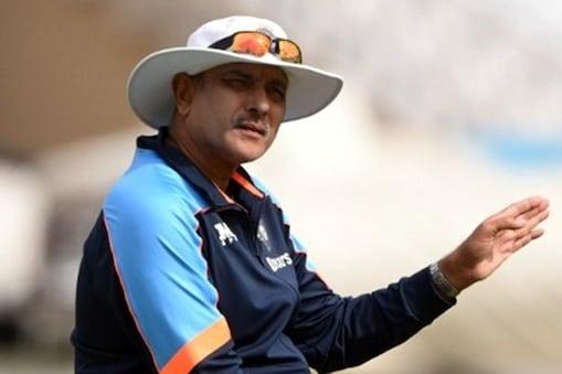 रवि शास्त्री की काेचिंग में टीम इंडिया आईसीसी ट्रॉफी नहीं जीत सकी. (AFP)