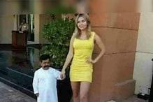 रूसी हसीना को हुआ अरबपति बौने से प्यार, सोशल मीडिया पर लोगों ने कहा शुगर बेबी