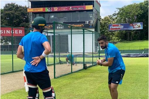 IPL 2021: तबरेज शम्सी राजस्थान रॉयल्स की ओर से उतर रहे हैं. (Tabraiz Shamsi Twitter)
