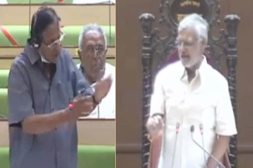 राजस्थान विधानसभा में स्पीकर सीपी जोशी और मंत्री शांति धारीवाल के बीच फिर से तकरार हुई.