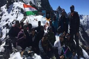 हिमाचल: पहली बार माउंटेनरिंग सब सेंटर जिस्पा के दल ने हाई एल्टीट्यूड कुगती पास किया पार
