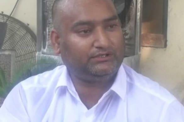 ज्ञानपुर विधायक विजय मिश्रा के फरार बेटे ने STF की कार्रवाई को बताया फर्जी