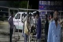NH-27 पर हादसे का शिकार हुई दिल्ली जा रही बस, कंडक्टर की मौत कई घायल