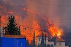 स्पेन में 22 हजार झटकों के बाद फटा ज्वालामुखी, तस्वीरों में देखें कैसी मची तबाही