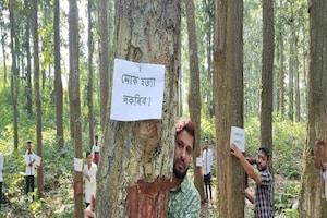 नेशनल हाईवे 36 के विस्तार का विरोध: 6,000 पेड़ काटे जाने की योजना का विरोध